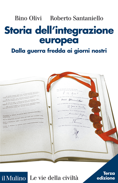 Copertina Storia dell'integrazione europea