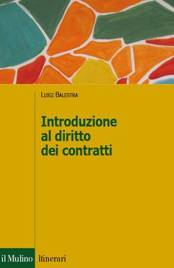 copertina Introduzione al diritto dei contratti