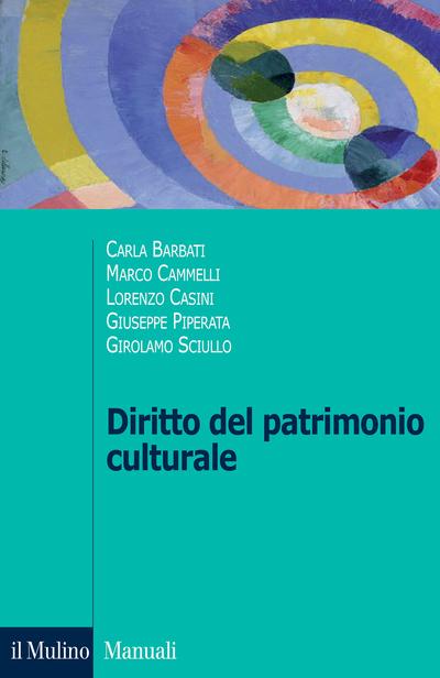 Cover Diritto del patrimonio culturale