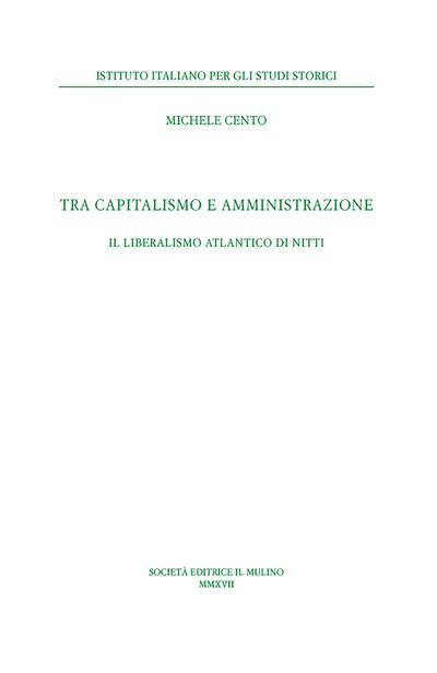 Cover Tra capitalismo e amministrazione